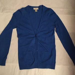Loft long sleeve cardigan sweater
